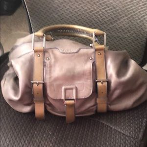 Botkier gray leather bag